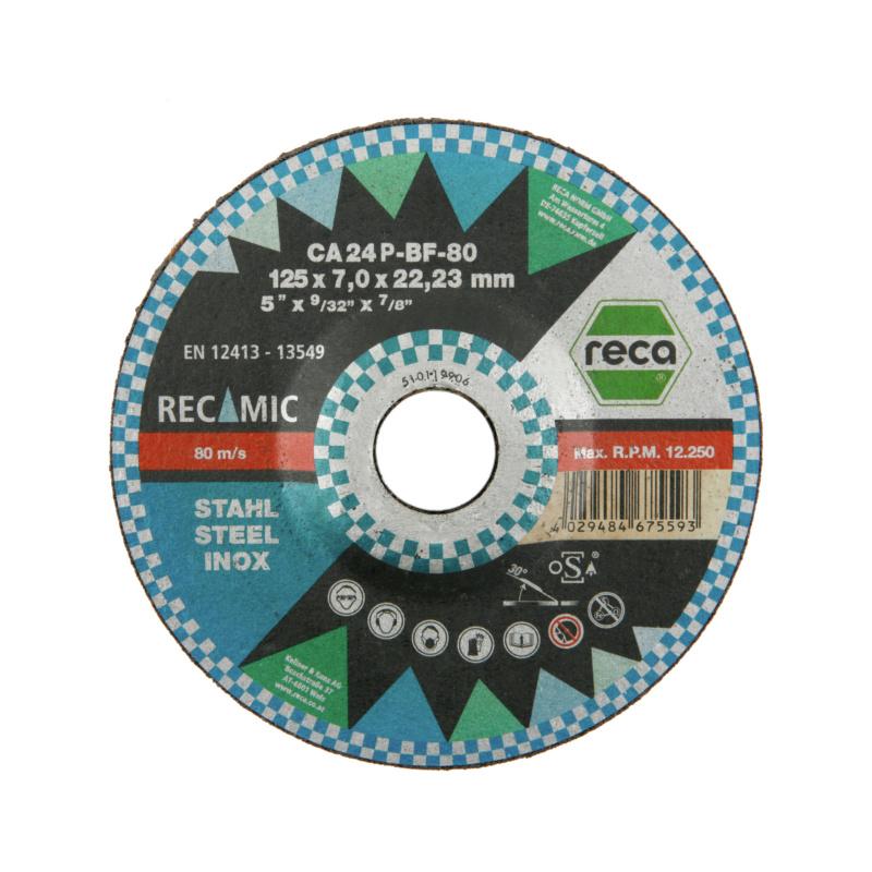 RECAMIC Schruppscheibe - Kompromisslose Höchstleistung - 1