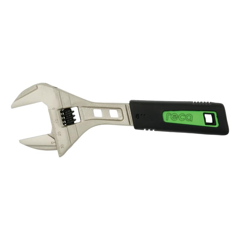 RECA 2C adjustable wrench, large span