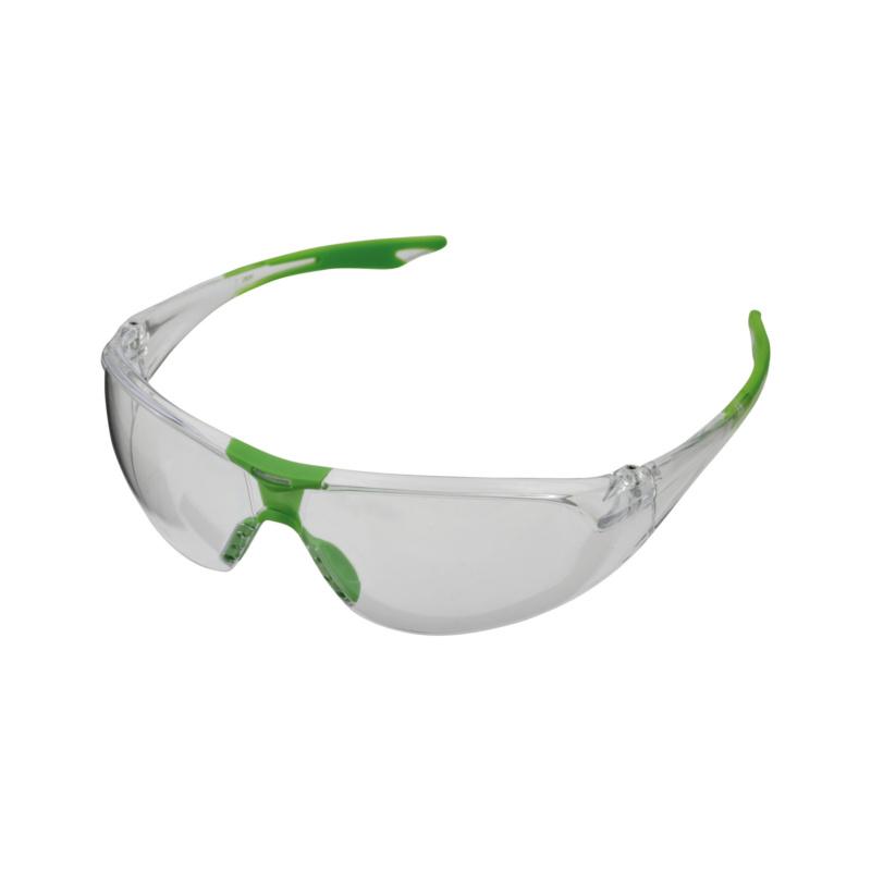 Bügelschutzbrille Racer - Racer Bügelschutzbrille klar, gerade, sportliche Bügelform
