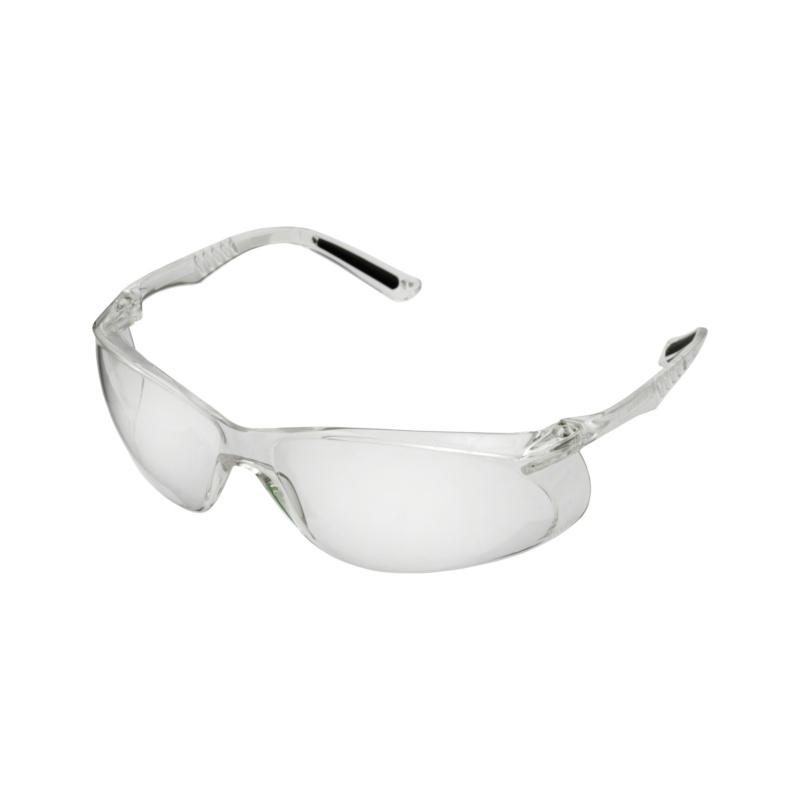 Bügelschutzbrille Crystal - Crystal Bügelschutzbrille klar, perforierte, flexible Bügel