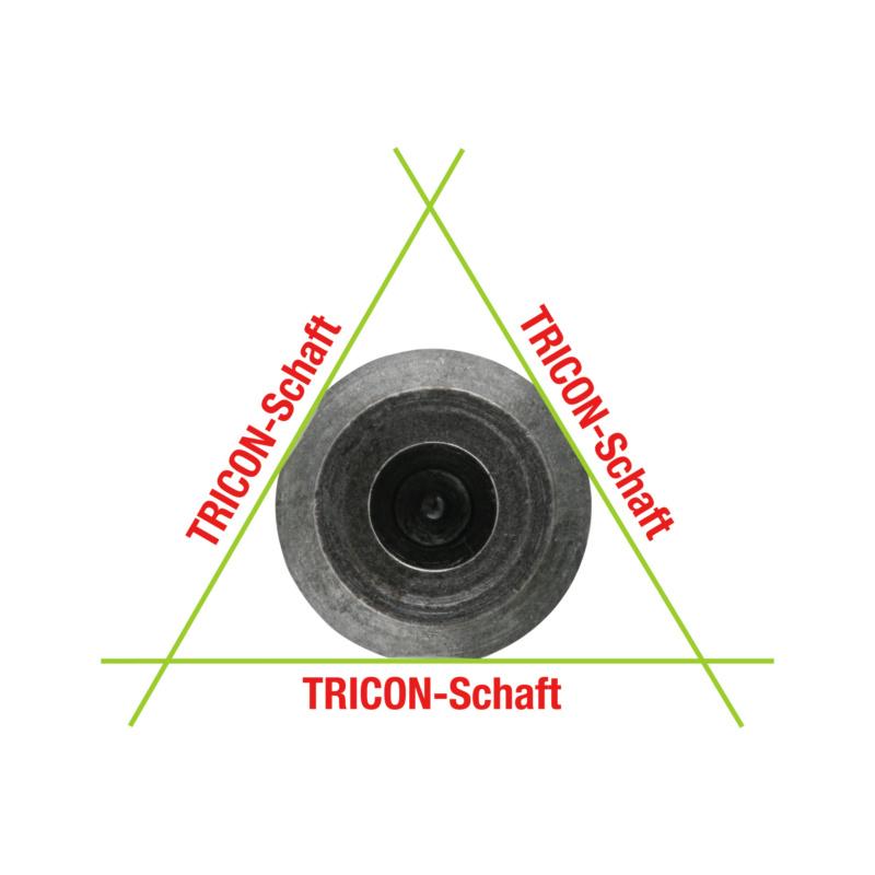 ultra Kegelsenker  - ultra Kegelsenker 90° DIN 335 HSS TiAlN, mit 3 Schneiden 90° 8,3 mm