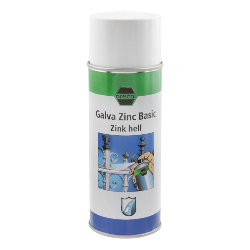 arecal Galva Zinc Basic Zinkspray - arecal GALVA ZINC BASIC Zinkspray hellgrau 400 ml