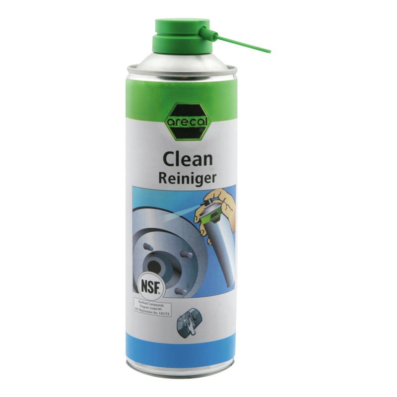 arecal Clean Spezialreiniger mit H 1 Zulassung