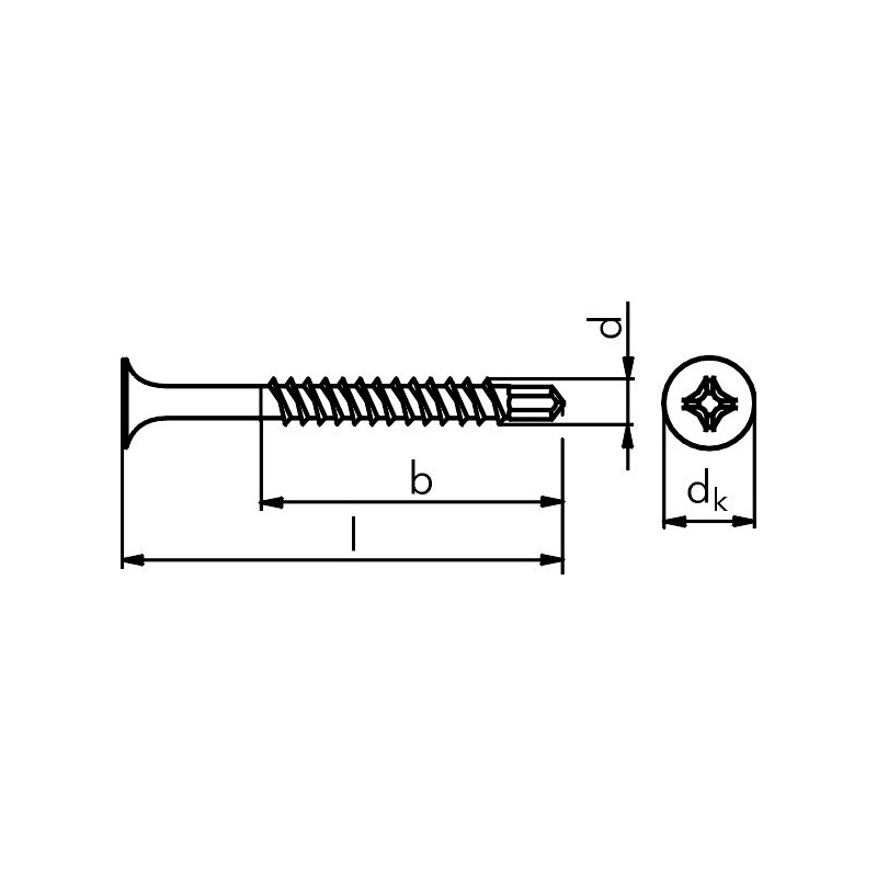 Buy Drywall screws with Teks drill tip – small packs (6184