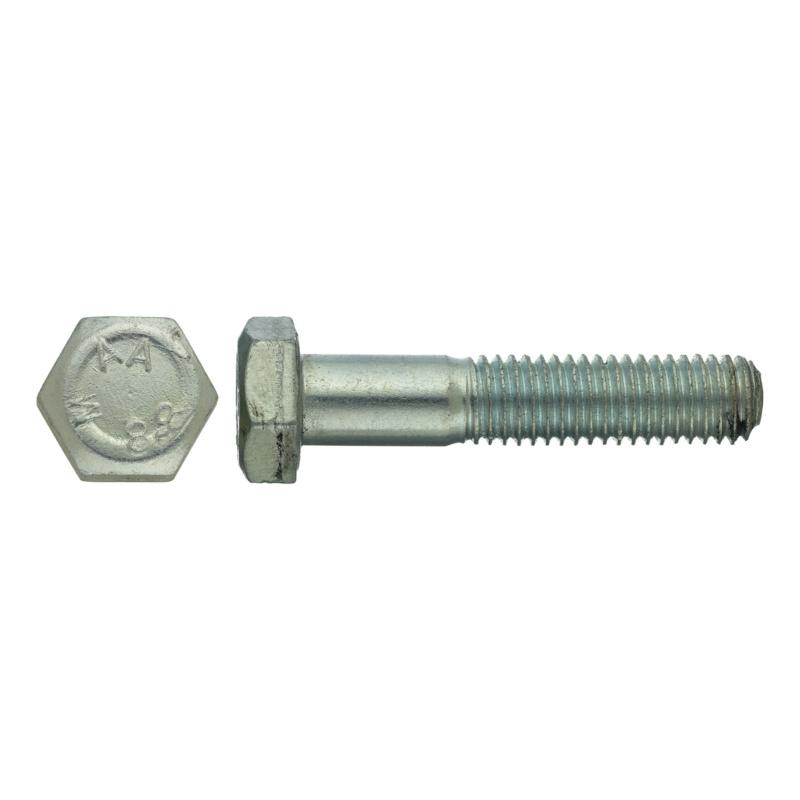 DIN 931 10.9 M16 x 70 25 Stk Sechskantschraube mit Schaft