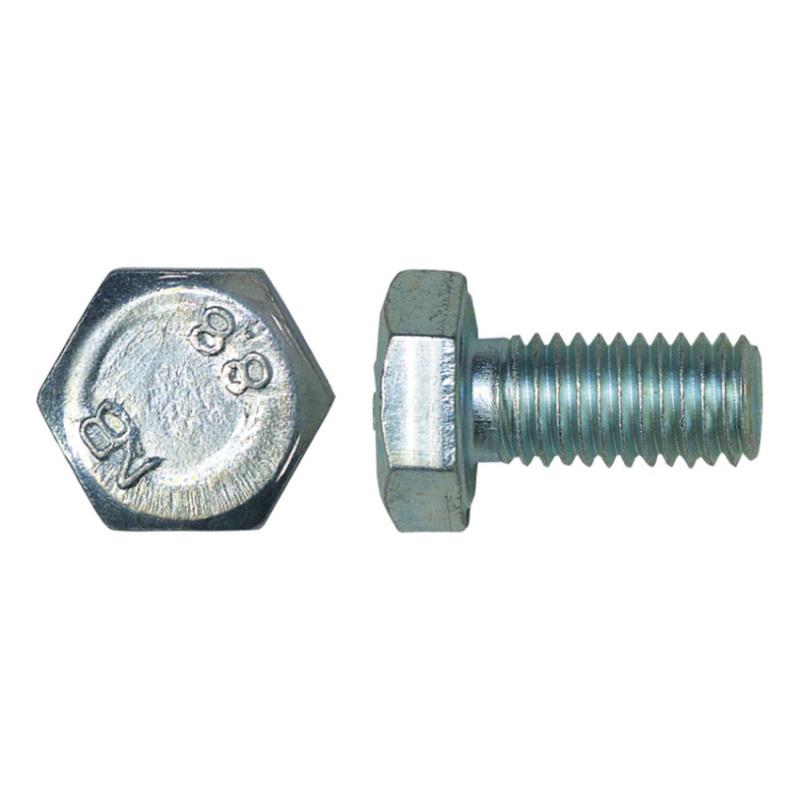 Sechskantschraube DIN 933 8.8 vz - 1