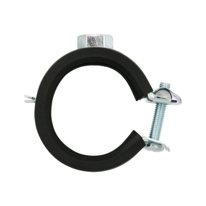 Qmatic Click - Rohrschelle Stahl verzinkt - 1