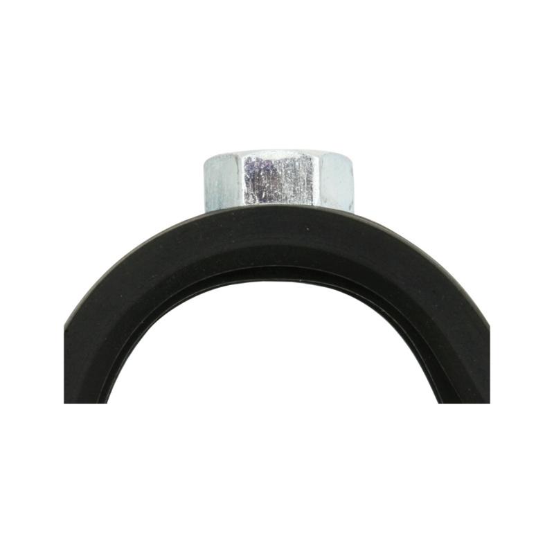 Qmatic Click - Rohrschelle Stahl verzinkt - 6