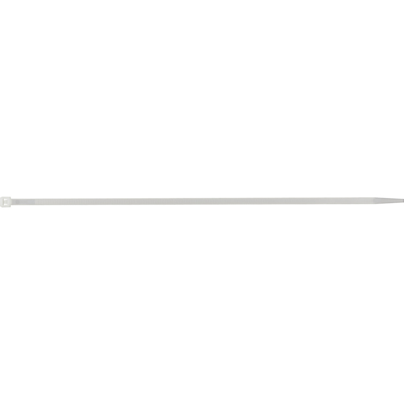 Cable ties with plastic latch, natural - 2