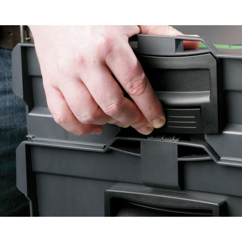 RECA Boxx Thermo 374 Thermo-Kunststoffsystemkoffer - RECA Boxx Thermo 374 Thermo-Kunststoffsystemkoffer grafitgrau/grün, mit Thermo-Einsatz 442 x 357 x 389 mm