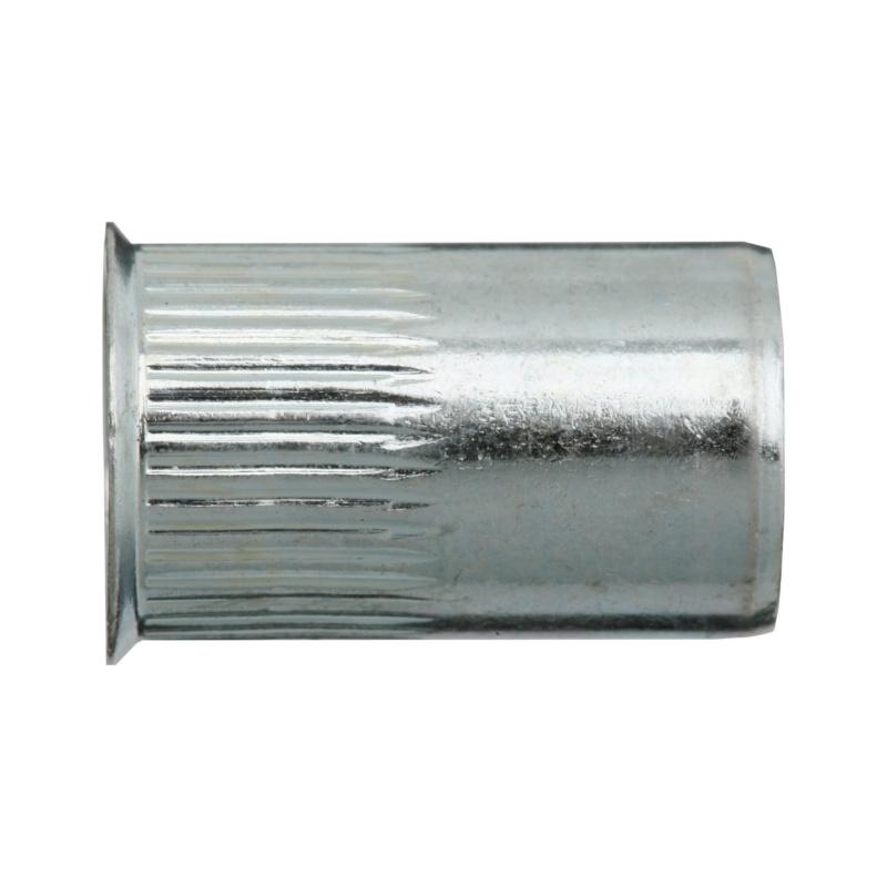 250 x Gewindenieten M10 Stahl ab 1,0 mm Blindnietmutter Gewindeniete Nietmuttern