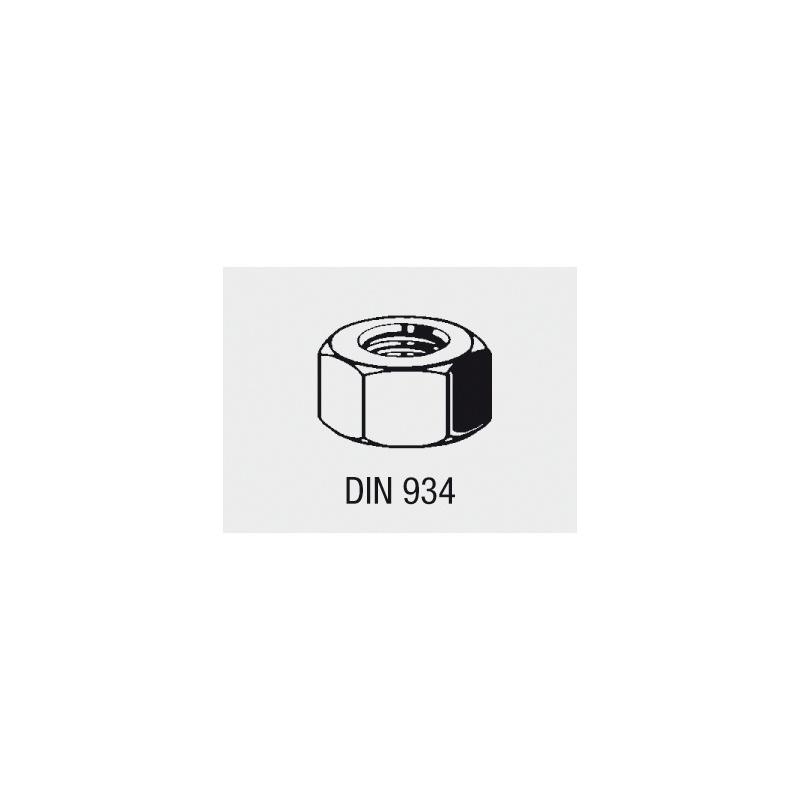 VISO Sortiment Sechskantmuttern DIN 934 - VISO Sechskantmuttern-Sortiment DIN 934 Stahl Kl. 8 verzinkt, M3 - M16