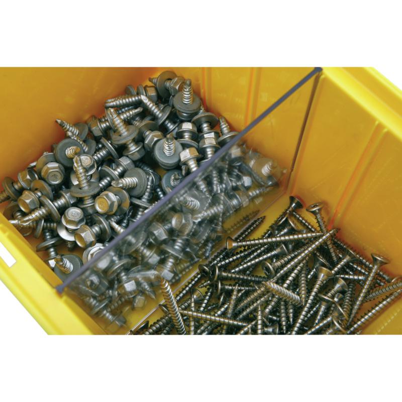 Trennwände für Kunststofflagerkästen - 2