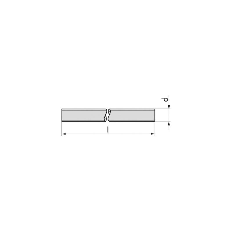 Threaded rod, DIN 976-1, A2-70 - 2