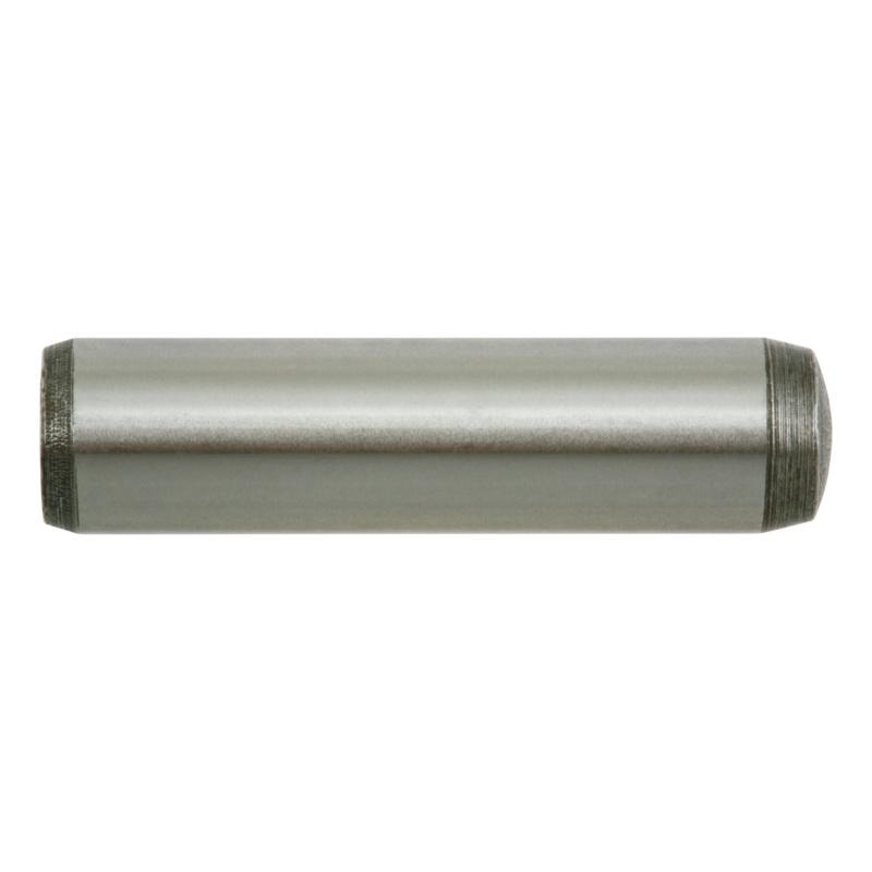 Zylinderstifte DIN 7 Toleranzfeld m6 Stahl blank Durchmesser 8 bis 30 mm