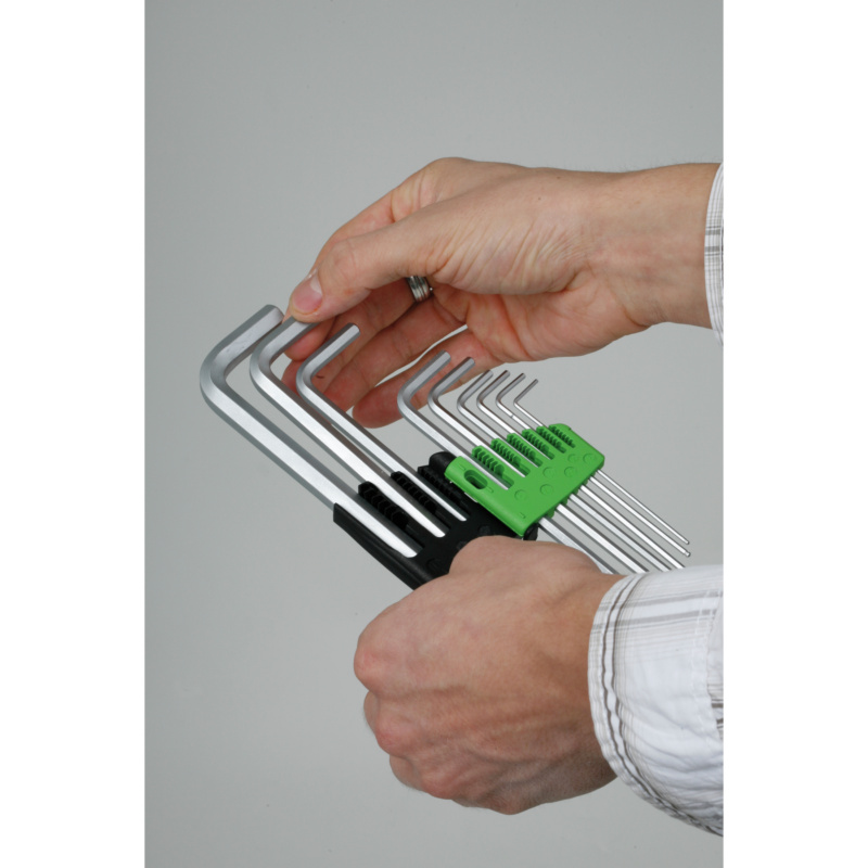 RECA Stiftschlüssel-Satz Magic Ring 9-teilig - Sechskant / Kugelkopf - 4