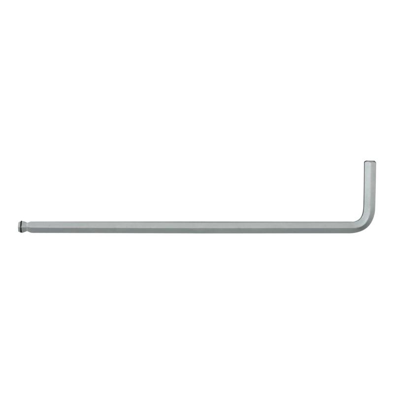 RECA Stiftschlüssel Magic Ring lange Auführung - Sechskant / Kugelkopf - MagicRing Stiftschlüssel lange Ausführung, einseitig mit Kugelkopf 8,0 mm