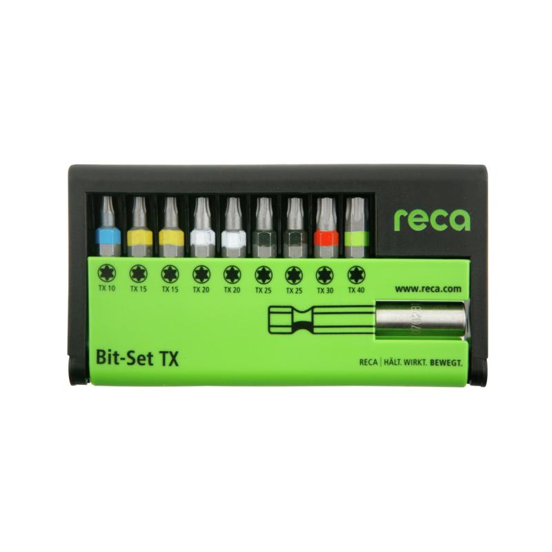 RECA Bit-Set TX, 10-teilig - 1