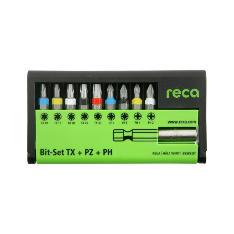 RECA Bit-Set TX+PZ+PH, 10-teilig - 1