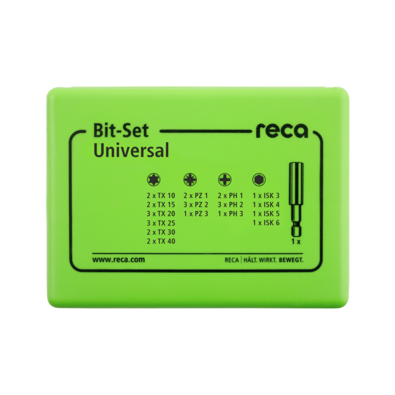 RECA Bit-Set Universal, 31-teilig - 2