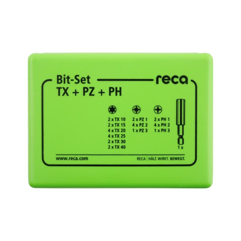 RECA Bit-Set TX+PZ+PH, 31-teilig - 2