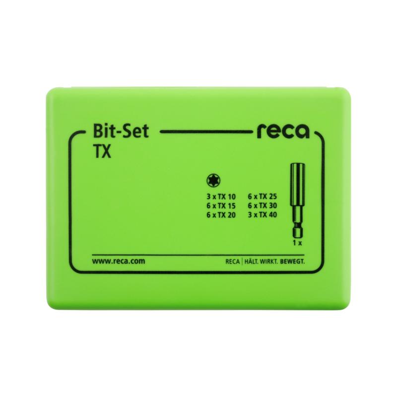 RECA Bit Set TX, 31-teilig - 2