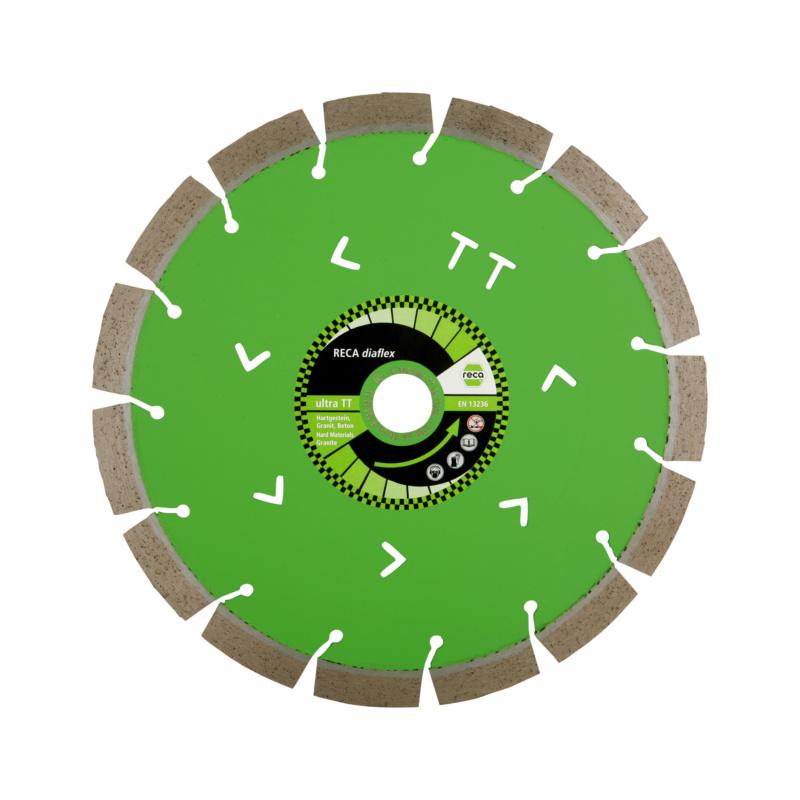 Restposten - diaflex Diamanttrennscheibe ULTRA TT Universal PREMIUM, Segmenthöhe 15 mm, Einzelpaket 300 / 25,4