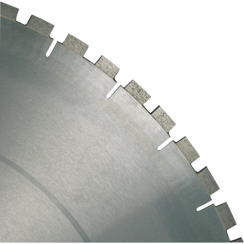 diaflex Tischsägen Nass Mauerwerk/KS 625-900mm - diaflex Diamanttrennscheibe RS10UB für Mauerwerk, für Tischsäge-Nassschnitt, Einzelpaket 625 / 60-55