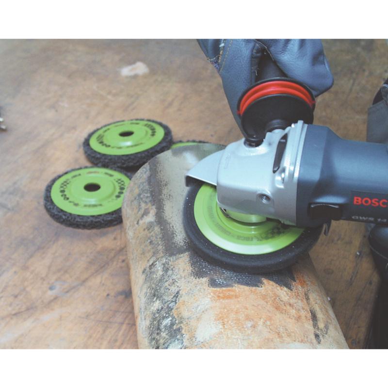 clean-mop Fächerschleifscheiben - clean-mop Fächerschleifscheiben Reinigungsscheibe 125 mm