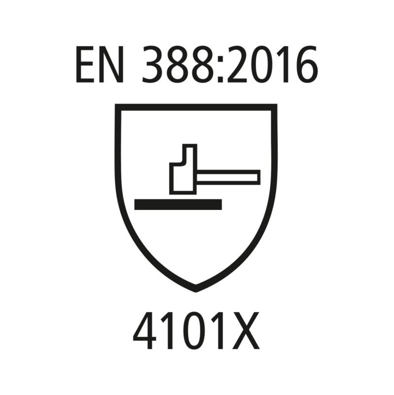 Chemikalienschutzhandschuhe Nitril - Chemikalienschutzhandschuhe EN 388 / EN 374 Kat. III grün, Nitril, vollbeschichtet Gr. 10
