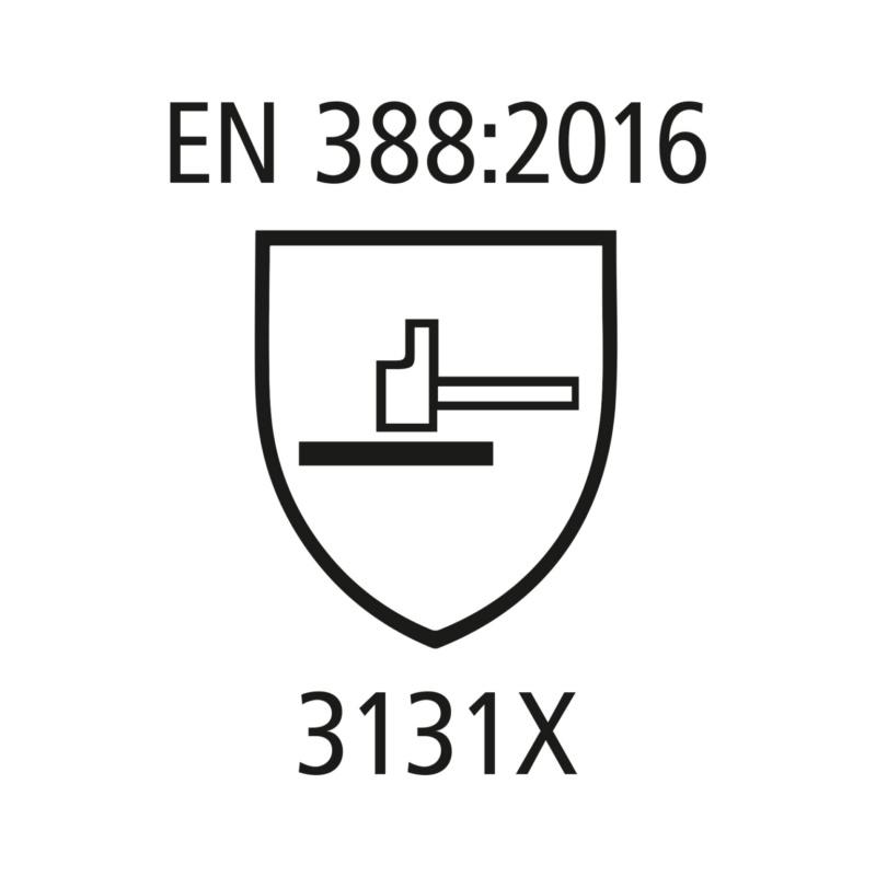 RECA Latex Grip Universalhandschuhe - Latex Grip Universalhandschuhe EN 388 - 3131X Nylongewebe, Latexbeschichtung schrumpfgeraut Gr. 9