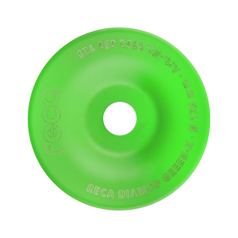 diamop Green X Allround - Disque diamant RECA diamop Green X pour finition alésage 22,2mm diamètre 180mm