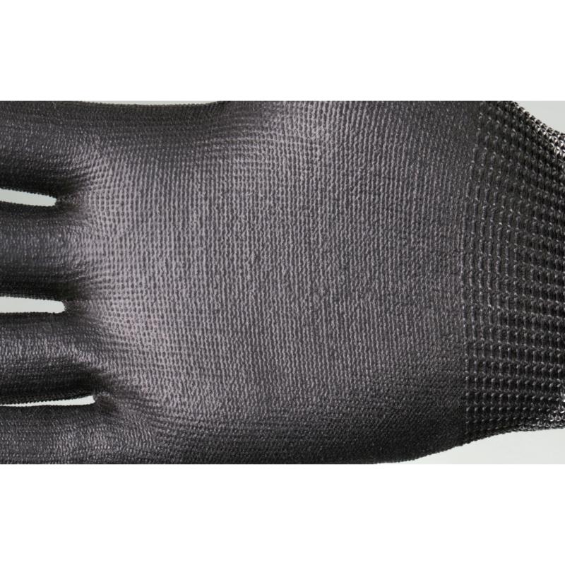 RECA Schnittschutzhandschuh PROTECT 202 - RECA Schnittschutzhandschuh PROTECT 202 EN388 - 4X43D - Kat.II HPPE, PU black Sz. 9