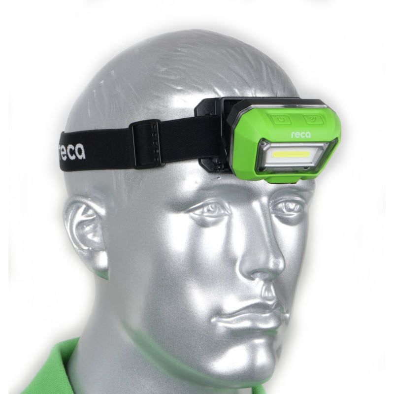 RECA Stirnlampe R280S Akku - 8
