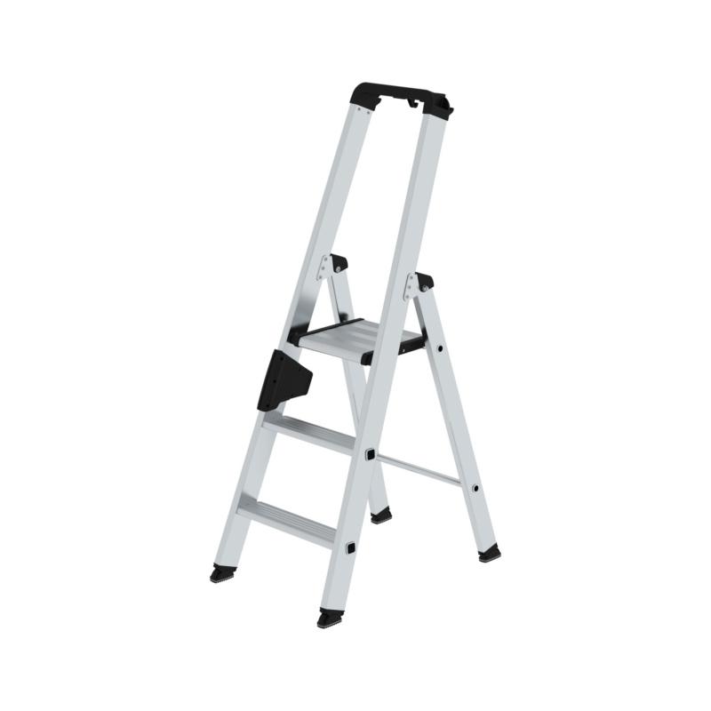 Aluminium-Stufen-Stehleiter einseitig - 1