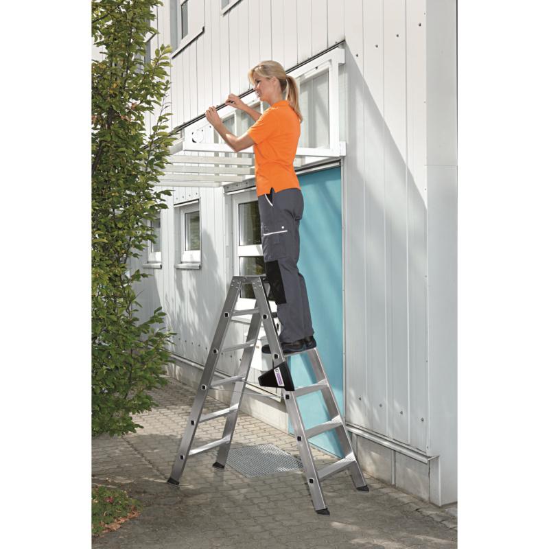 Aluminium-Stufen-Stehleiter - 4