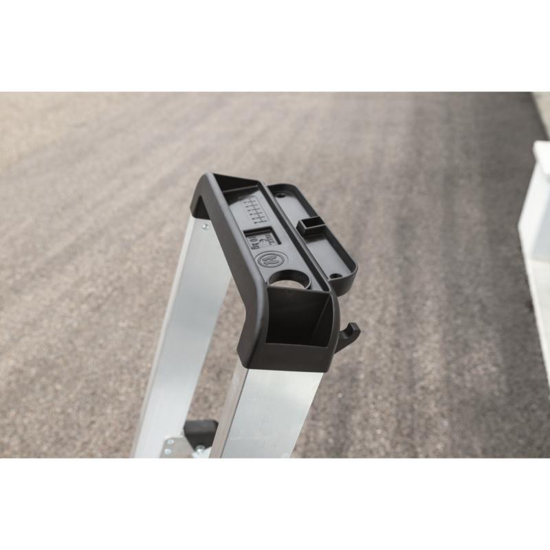 Aluminium-Stufen-Stehleiter einseitig - 2