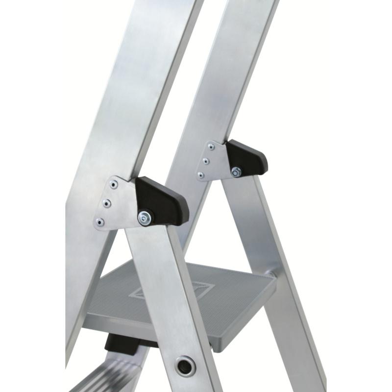 Aluminium-Stufen-Stehleiter einseitig - 5