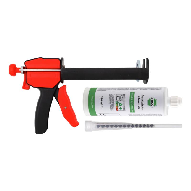 Fire protection foam starter kit