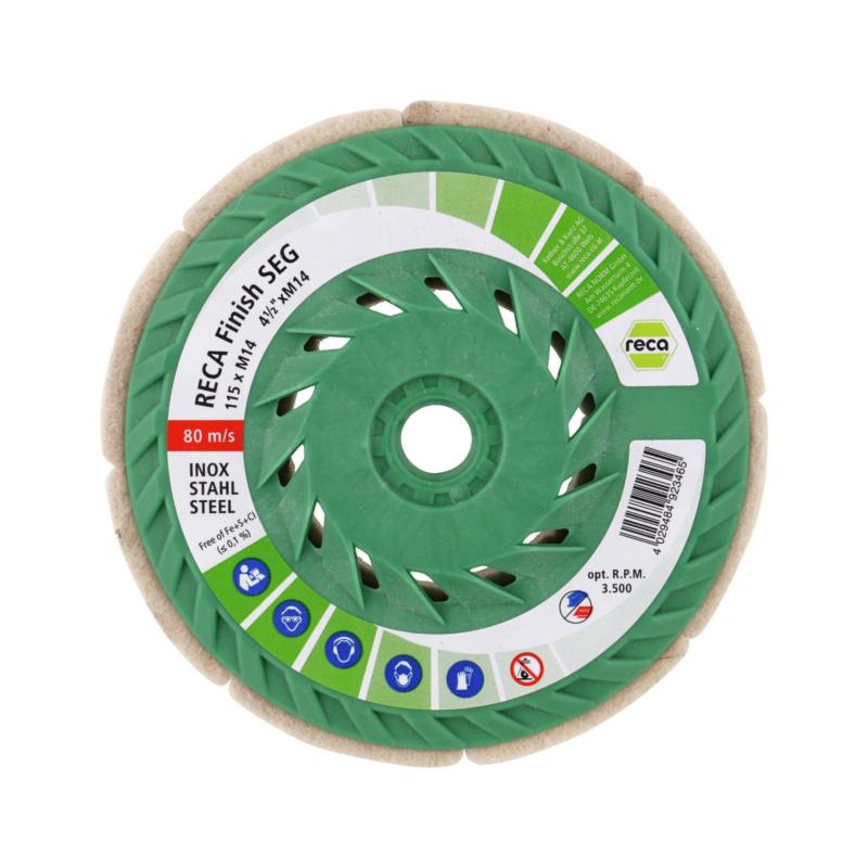 finish SEG segmented sanding disc - 1