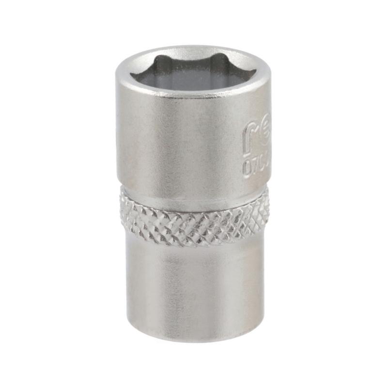 "RECA 1/4"" socket wrench inserts, metric with hexagon head - 1"