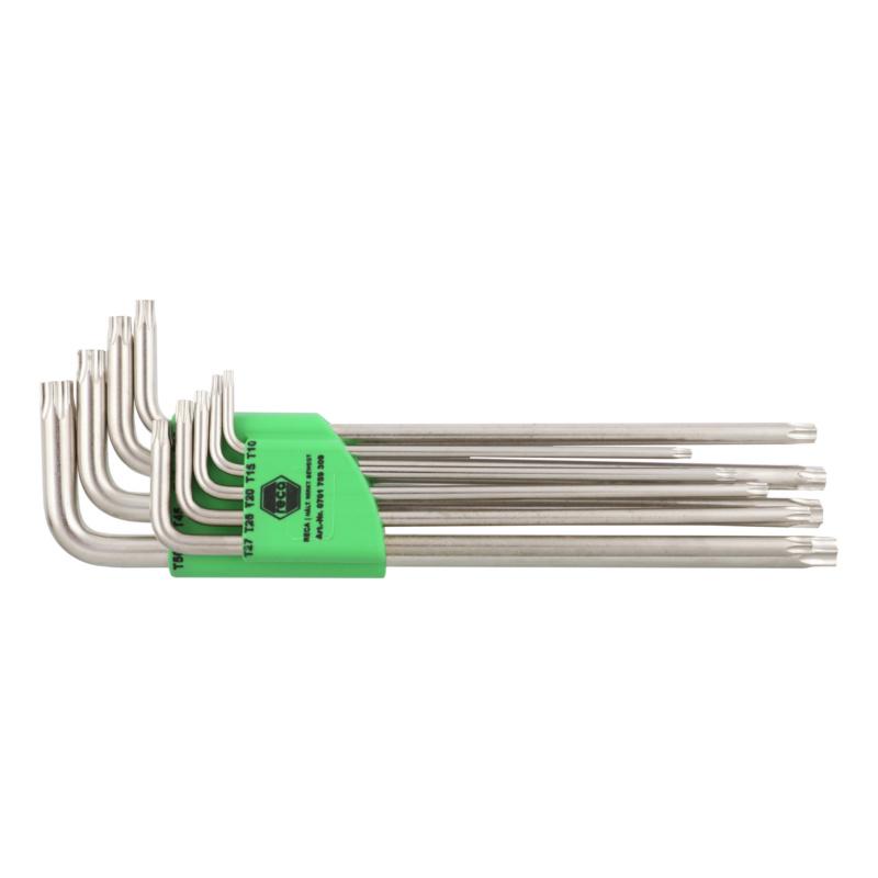 RECA Stiftschlüsselsatz - TX, lange Ausführung