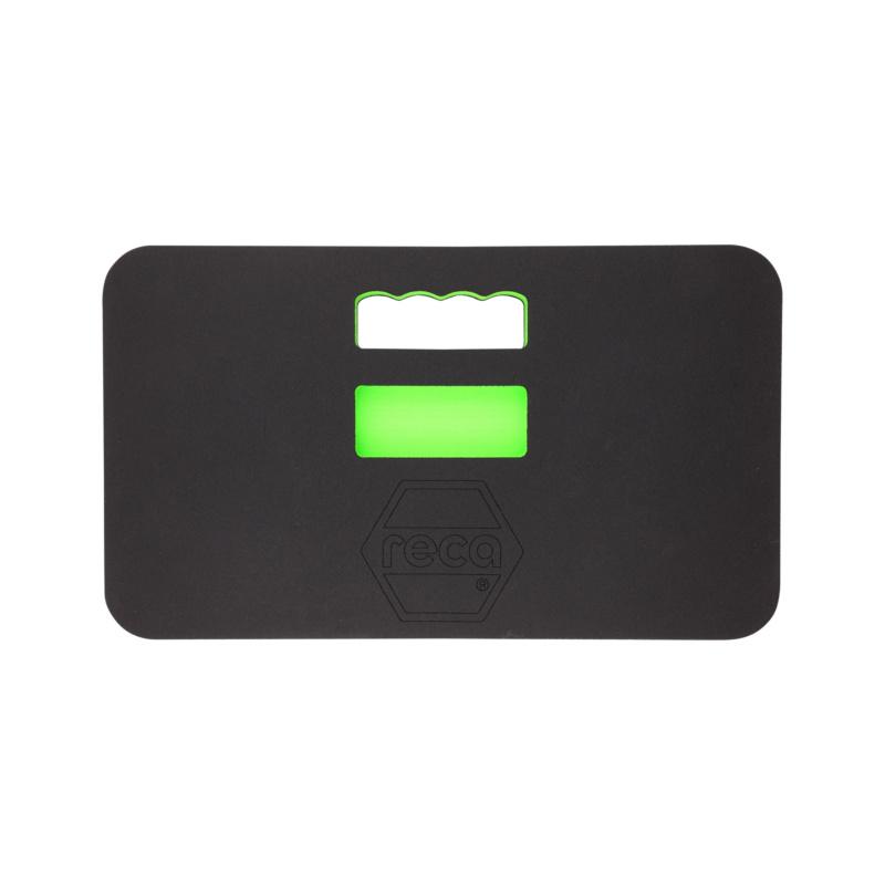 Tapis de protection RECA Profi - Tapis de protection RECA noir/vert/noir 465 x 270 mm