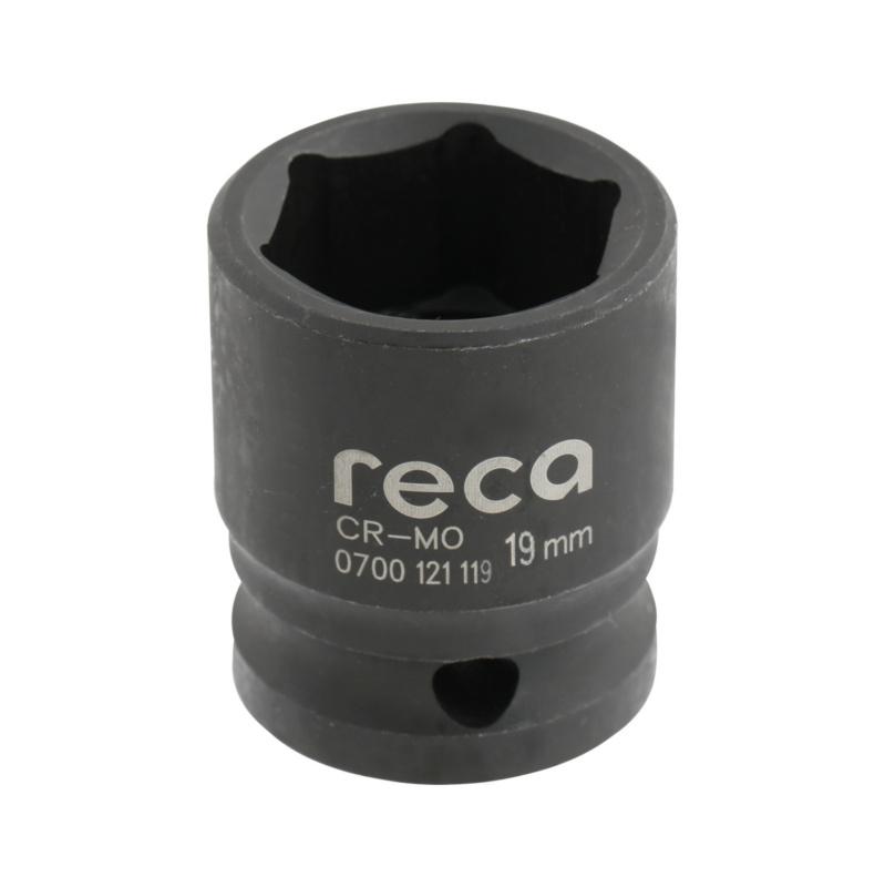 "RECA impact socket wrench inserts 1/2"", short version, metric - 1"