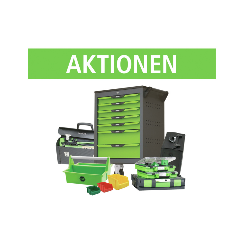 Assortments and factory equipment promotions