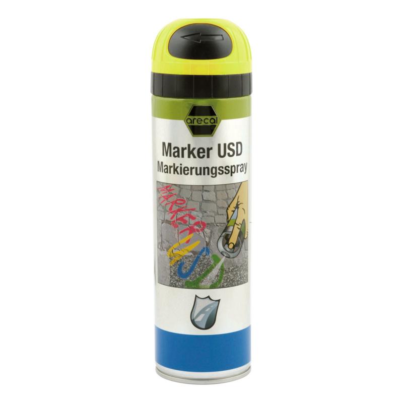arecal Marker USD Premium, Markierungsspray - arecal Marker USD Markierungsspray gelb 500 ml