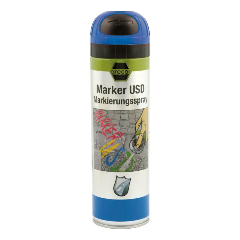 arecal Marker USD Premium, Markierungsspray - arecal Marker USD Markierungsspray blau 500 ml