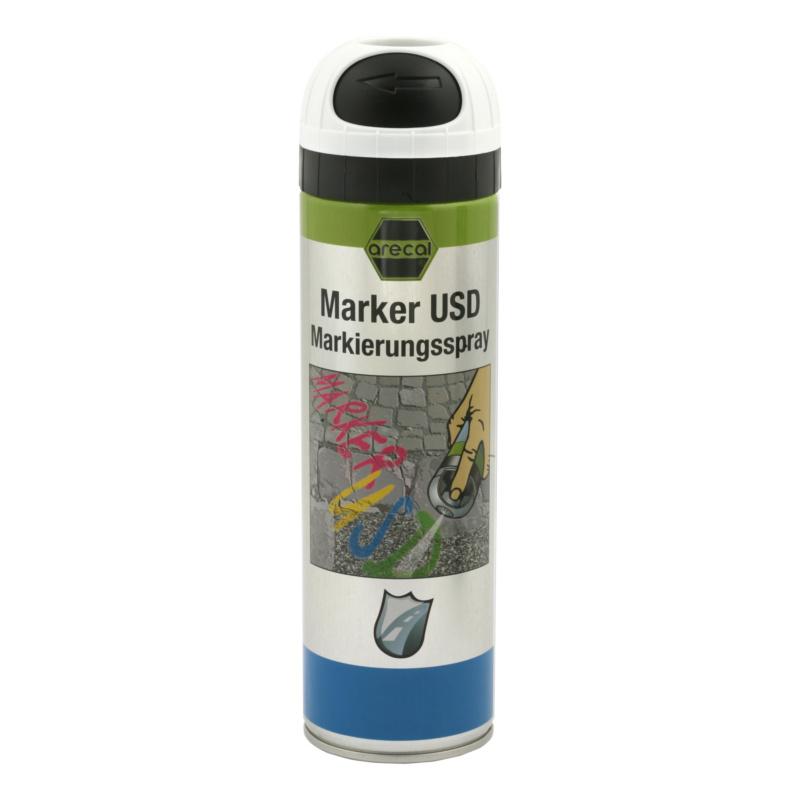 arecal Marker USD Premium, Markierungsspray - arecal Marker USD Markierungsspray weiß, nicht fluoreszierend 500 ml