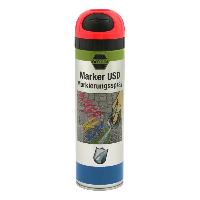 arecal Marker USD Premium, Markierungsspray - arecal Marker USD Markierungsspray rot 500 ml