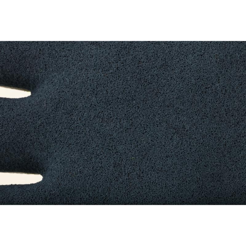 RECA Schutzhandschuh Latex Hi-Viz - RECA Latex Hi-Viz Arbeitshandschuhe EN 388 Polyester, Latexschaumbeschichtung Gr. 10